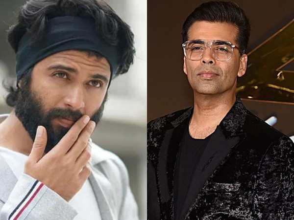 Karan Johar wants Vijay Deverakonda to work in Bollywood soon