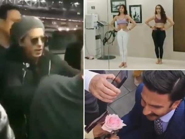 5 celebrity videos that went viral recently