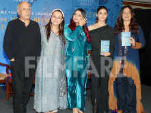 Alia Bhatt steps out with her family for sister Shaheen Bhatt's book launch