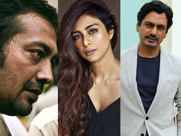 Anurag Kashyap ropes in Tabu and Nawazuddin Siddiqui for Thriller Factory