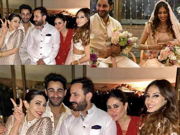 Inside pictures and videos from Armaan Jain's roka ceremony