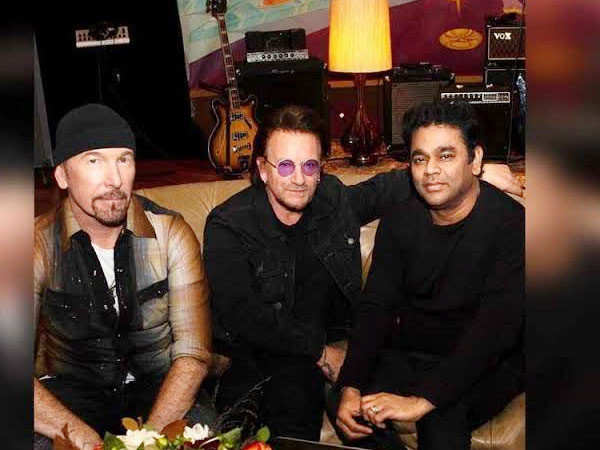 A.R Rahman To Perform With U2 In India