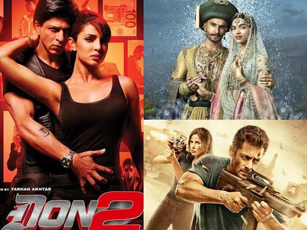 Bollywood's Christmas releases in the last decade