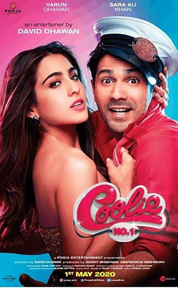 Coolie hayır 1 gelecek bollywood film 2020