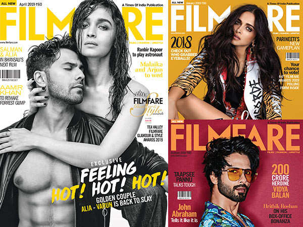 From January to December - Check out all the Filmfare covers of 2019