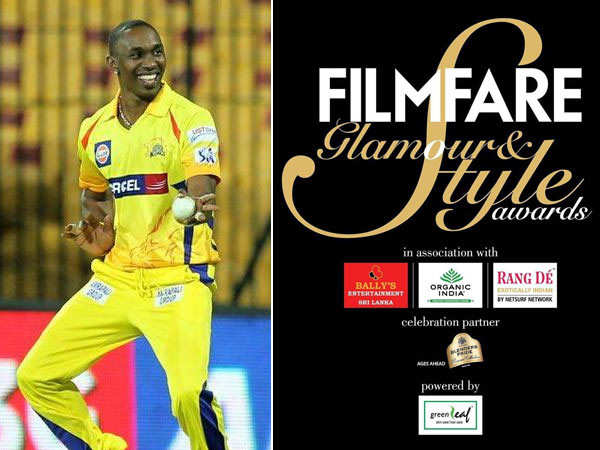 Dwayne Bravo to perform at the Filmfare Glamour and Style Awards