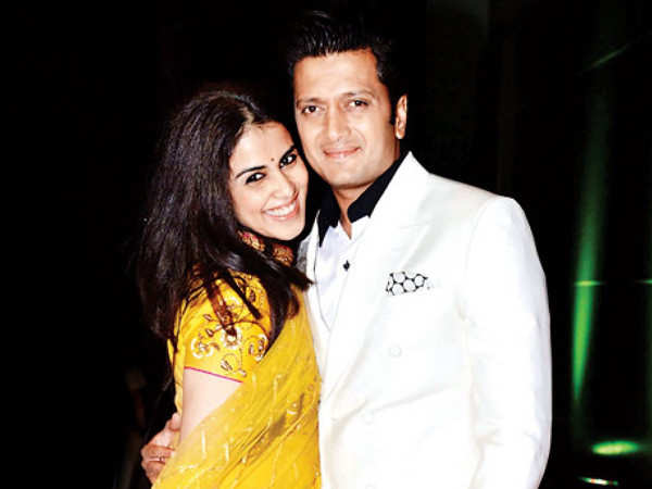 Genelia D'Souza's special birthday wish for Riteish Deshmukh is all things