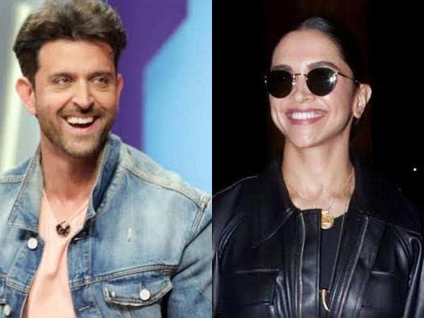 Hrithik Roshan reacts to Deepika Padukone's praise