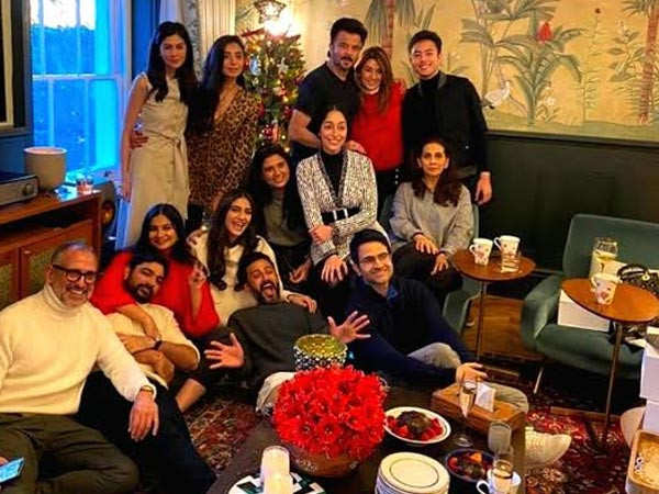 Inside pictures from Sonam Kapoor's Christmas party in London