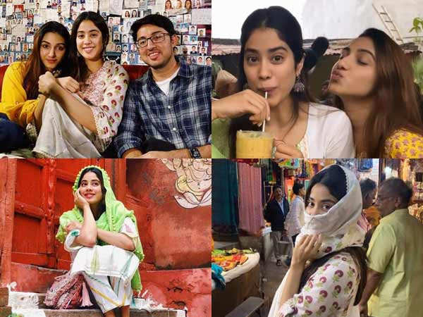 Janhvi Kapoor's pictures from Varanasi are all things fun
