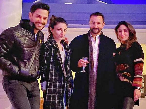 Kareena Kapoor Khan and Saif Ali Khan welcome winters in style