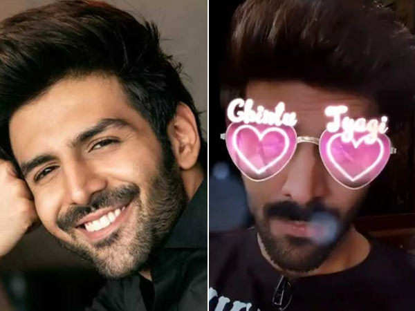 Kartik Aaryan is the first Indian actor to have his own Instagram filter