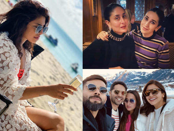 Latest pictures of celebrities enjoying their year-end vacay