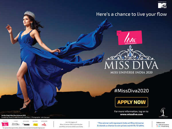 Liva Miss Diva 2020- Strong, Dynamic and Confident is back