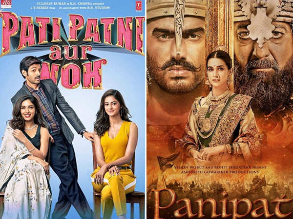Panipat vs Pati Patni Aur Woh box office predictions