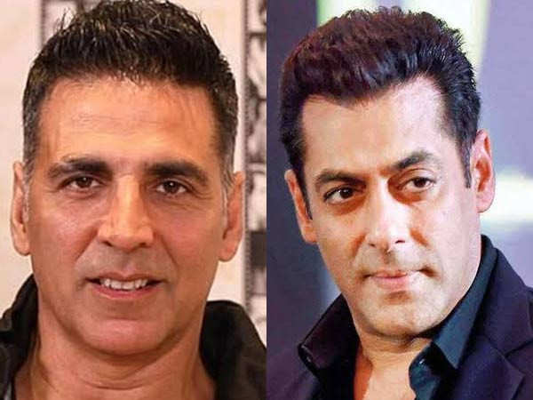 Salman Khan reacts to clash with Akshay Kumar at the box office