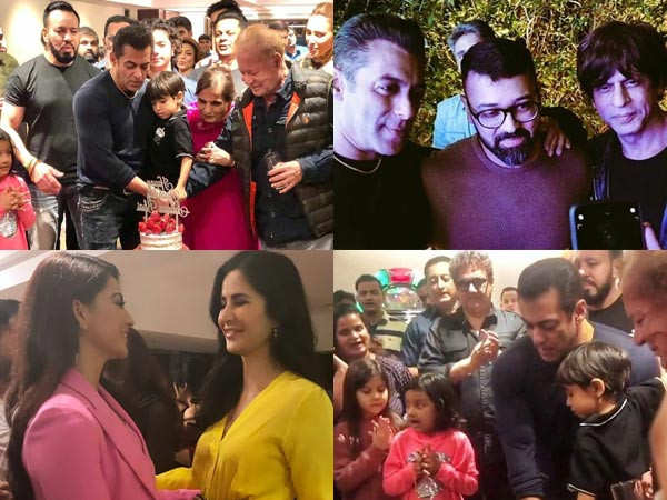 Inside Pictures And Videos From Salman Khan's Birthday Party