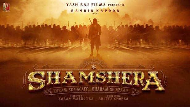 Shamshera Upcoming Bollywood Movies 2020