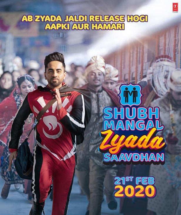 Shubh Mangal Zyada Saavdhan Yaklaşan Bollywood Filmleri 2020