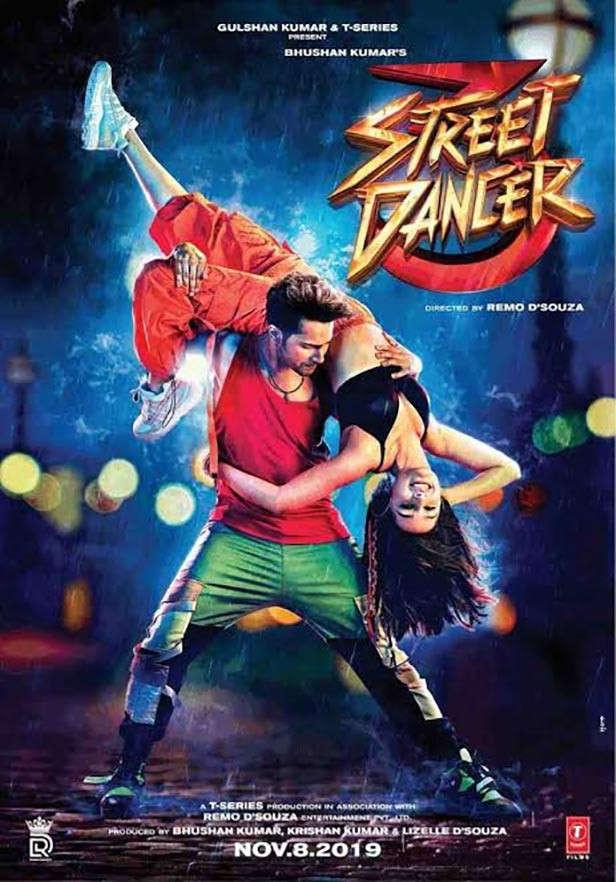 Sokak dansçı 3 varun shraddha gelecek bollywood film 2020