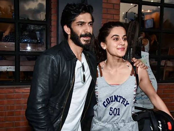 Taapsee Pannu clears the air about her statement on Harshvardhan Kapoor