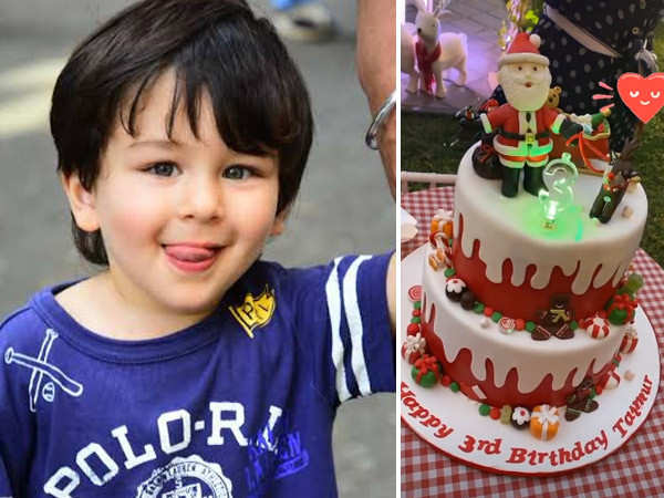 Here's how munchkin Taimur Ali Khan celebrated his third birthday