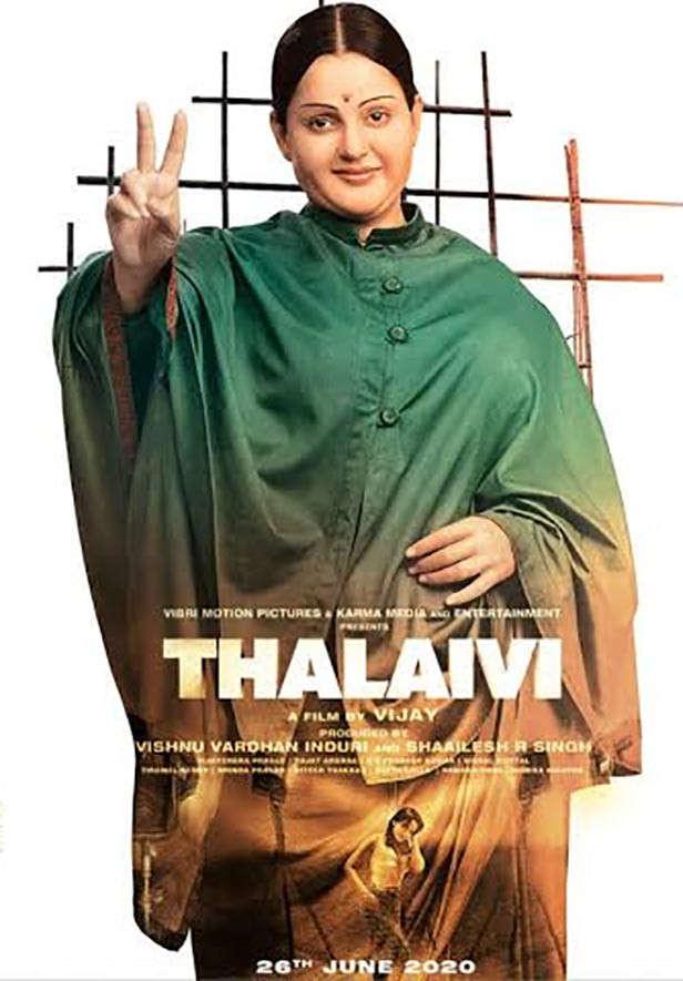 Yaklaşan Bollywood Filmleri 2020 Thalaivi