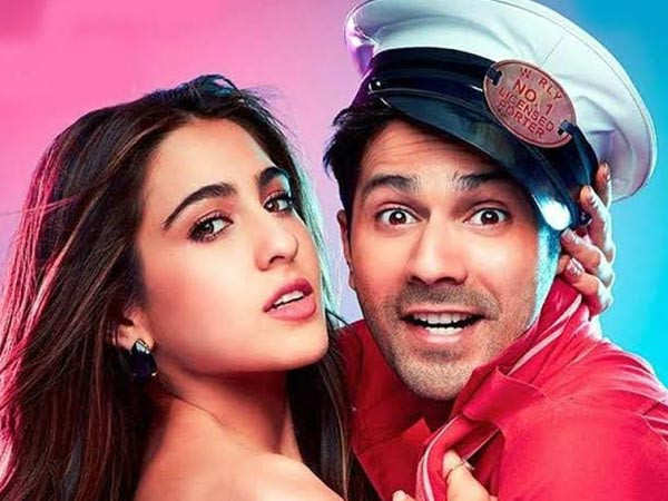"""She works really hard"" – Varun Dhawan on Sara Ali Khan"
