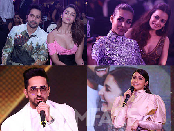 Here's taking you inside the Filmfare Glamour And Style Awards 2019