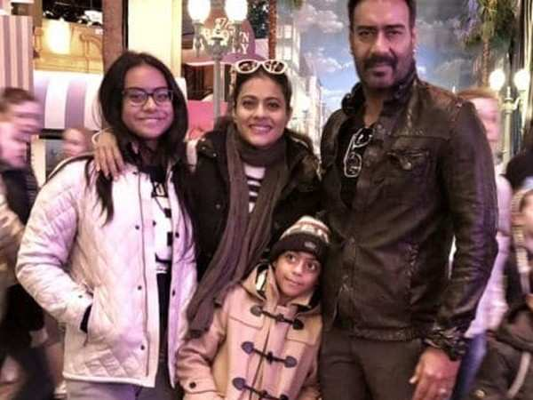 """""""Judge me but don't judge my kids"""" - Ajay Devgn on kids being trolled"""