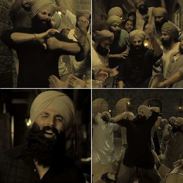 Kesari is one of the most anticipated Bollywood films releasing in the year 2019. And rightly so, as Akshay Kumar and Karan Johar collaborating for a project is bound to generate such hype. The film is based on the 1897 Battle of Saragarhi, where 21 Sikh soldiers of the British-India regiment stood against the 10000-strong Afghani invaders and wrote valiant history with their sacrifices.  Along with Akshay Kumar, the film also stars Parineeti Chopra in a leading role. The trailer of Kesari has impressed many on social media with its stunning visuals, action sequences and Akshay Kumar's getup as the regiment leader, Havaldar Ishar Singh. Now, the makers have launched a new song from the film titled, 'Sanu Kehndi'. In the song, we see Akshay Kumar grooving with his squad to some thumping beats. Composed by Tanishk Bagchi and crooned by Romy and Brijesh Sandilya, Sanu Kehndi is full of old-world charm.  Produced by Dharma Productions, Cape of Good Films, Azure Entertainment and Zee Studios, the film will hit the silver screens on March 21.