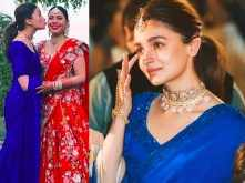 All the pictures of bridesmaid Alia Bhatt from her friend's wedding