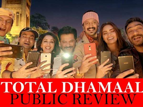 Audience give a thumbs up to Total Dhamaal