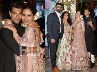 Bipasha Basu and Karan Singh Grover attend Vijayeta Basu's reception