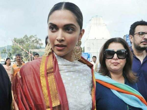 Deepika Padukone to be part of Farah Khan's comeback film as a director?