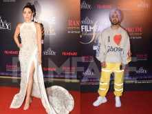 Karisma Kapoor, Diljit Dosanjh, Shilpa Shetty at Tea Valley Filmfare Glamour and Style Awards