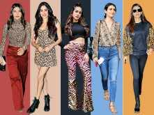 5 actresses who wore animal print with panache