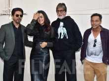 Amitabh Bachchan, Shah Rukh Khan & Taapsee Pannu step out to promote Badla