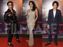 Shahid Kapoor, Janhvi Kapoor, Ishaan Khatter go glam at Tea Valley Filmfare Glamour And Style Awards