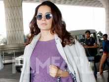 Kangana Ranaut slays her airport look yet again