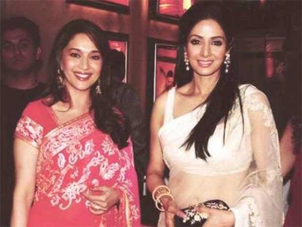 Madhuri Dixit, Sridevi, Filmfare