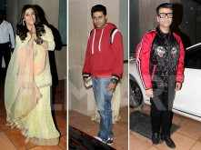 Bollywood bigwigs attend the naming ceremony of Ekta Kapoor's baby boy