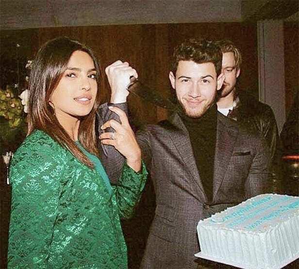 Priyanka Chopra & Nick Jonas celebrate Grammy nominations of their friends