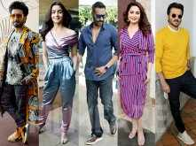 The cast of Total Dhamaal and Gully Boy snapped during promotions in Mumbai