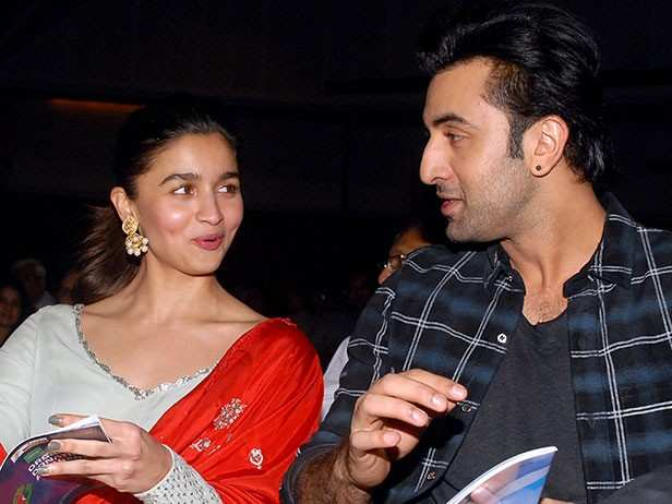 Alia Bhatt addresses rumours of tiff with Ranbir Kapoor