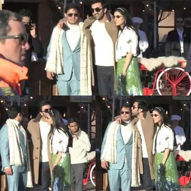 Ranbir Kapoor, Alia Bhatt, Akash Ambani, Shloka Mehta, Filmfare