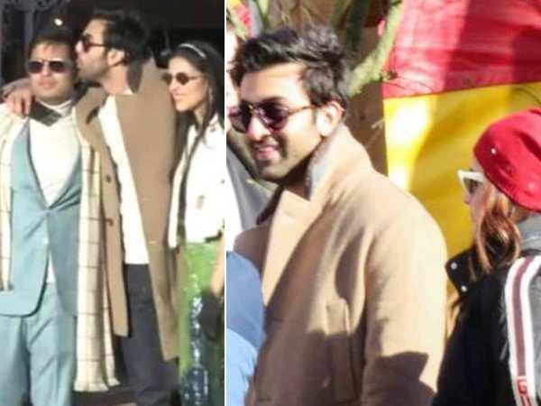 Ambanis pre-wedding bash: Ranbir Kapoor – Alia Bhatt spend quality time