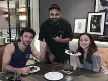 Photo: Ranbir Kapoor and Alia Bhatt's dinner date was all about love
