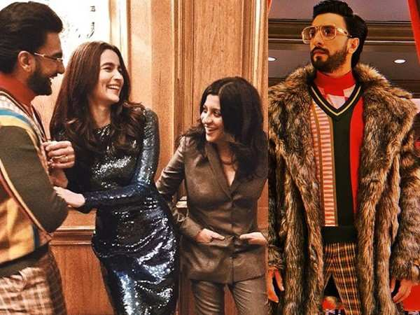 Ranveer Singh and Alia Bhatt return from Berlin