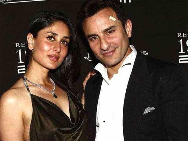 Saif Ali Khan, Kareena Kapoor Khan, Taimur Ali Khan, Filmfare